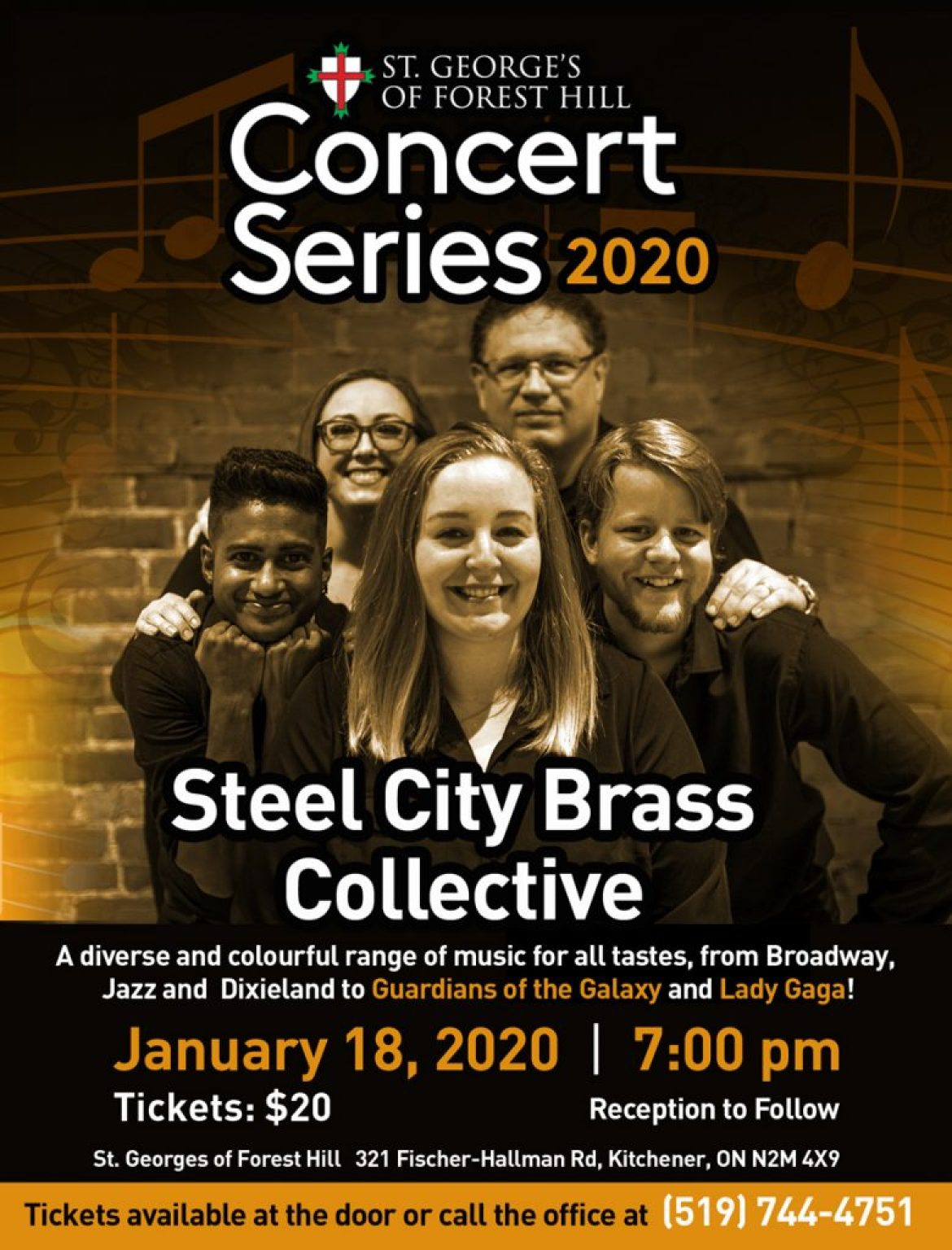 Concert Series – Steel City Brass Collective