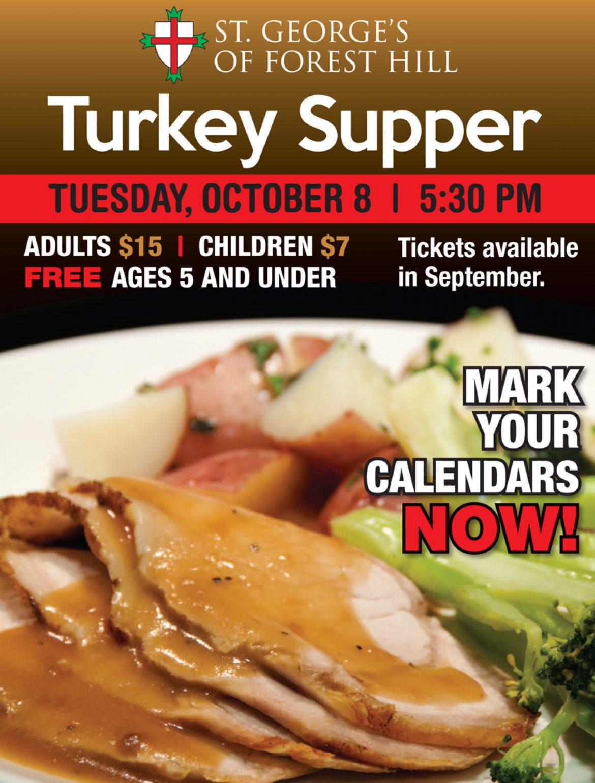 Turkey Supper 2019